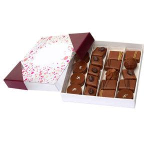 Boite_Carré_chocolats_Laits_Ganaches-Jardin-des-delices