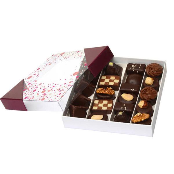 Coffrets_Chocolats_Pralinés_Noir_Jardin_des_Delices